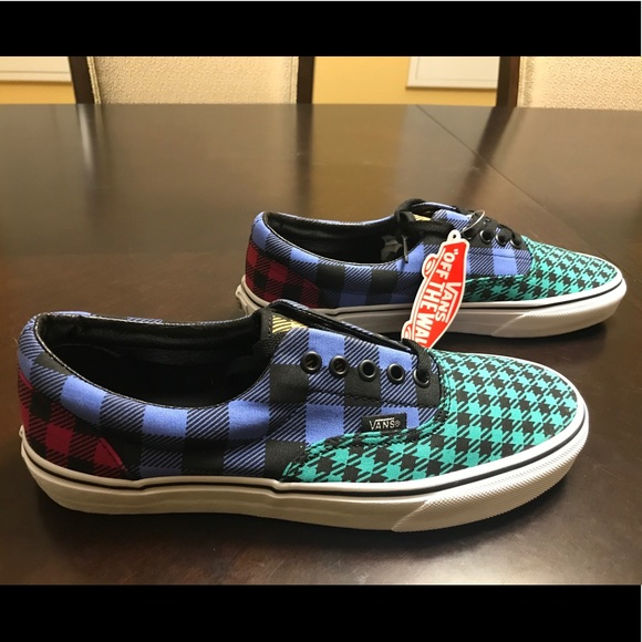New Vans Colorful Checkerboard Skate